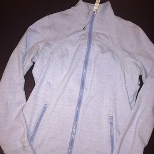 EUC Lululemon Define Jacket Sz 12 - Heathered Blue